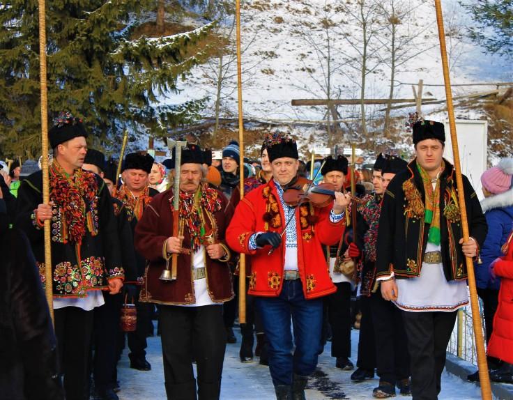 Партія села Криворівні, присілок Ґ